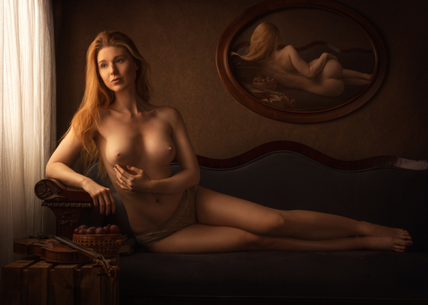 fine art nude portrait